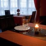 Detalle mesa en Restaurante Casa Pipo