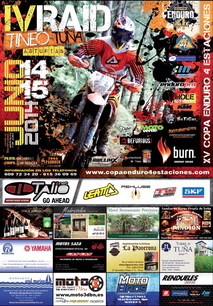 4 Estaciones, Primavera, Motociclismo, Enduro, Tuña